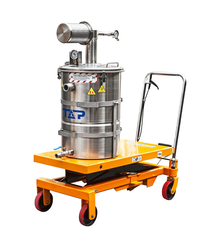 Ex Vacuum Cleaner Pneumatic (Air-Operated) Wet type