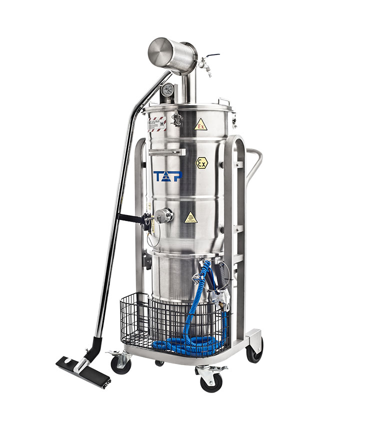 Ex Vacuum Cleaner Pneumatic(Air-Operated) Immersion Bath