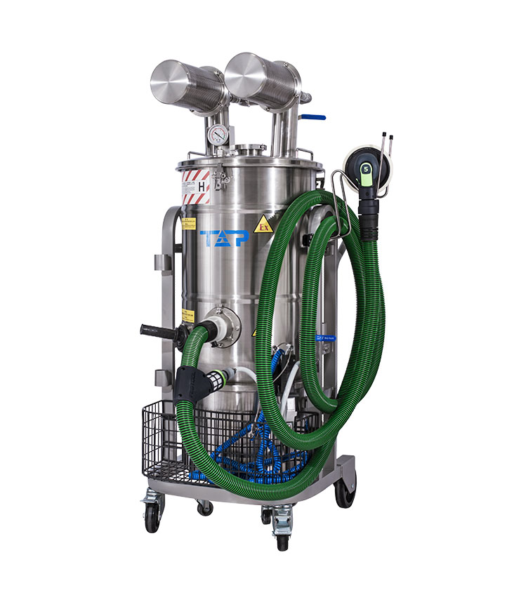 Ex Vacuum Cleaner(dust-free polishing) pneumatic-immersion bath type